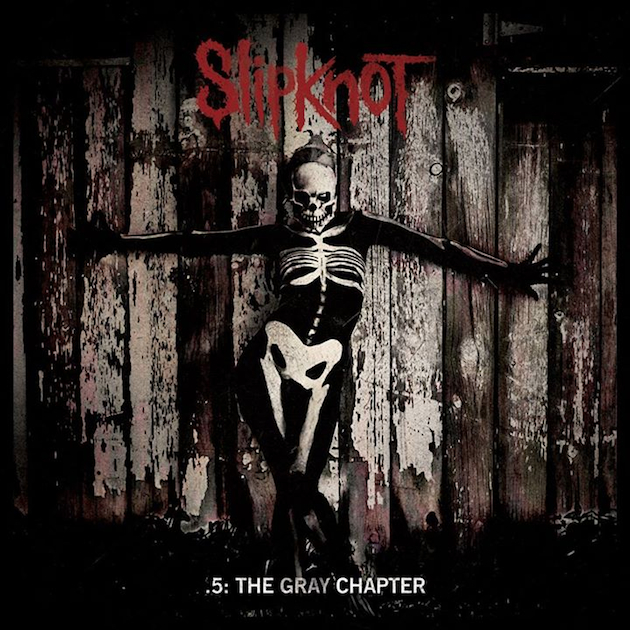 Новый мерч Slipknot 5: The Gray Chapter