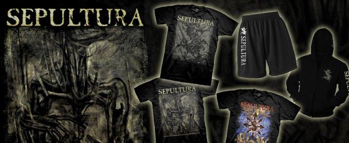 Новый мерч Sepultura