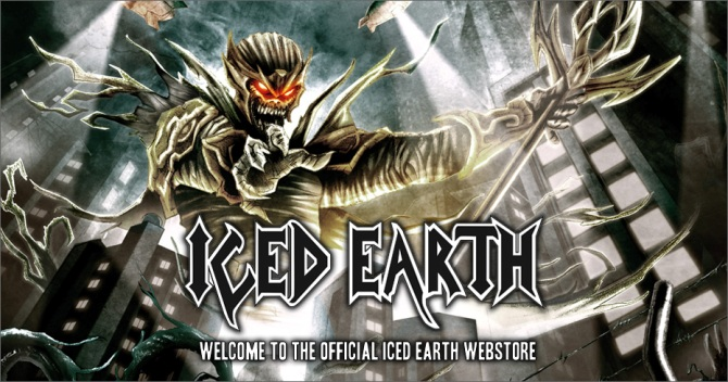 Iced Earth мерч