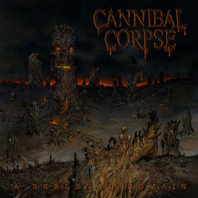 Cannibal Corpse - A Skeletal Domain CD