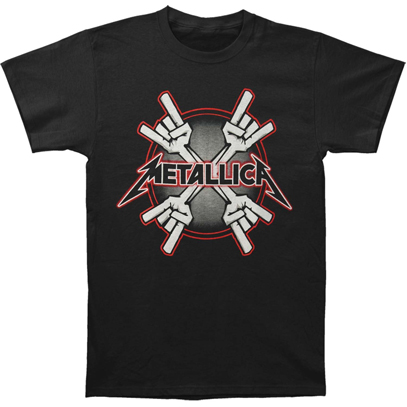 Футболка Metallica - Four Hands T-Shirt