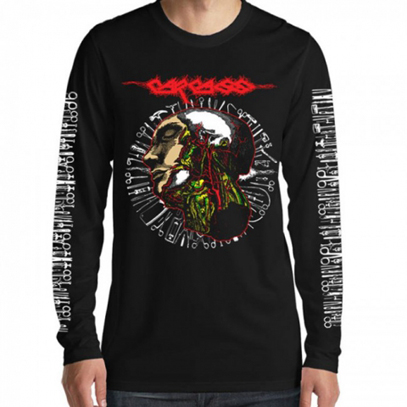 Лонгслив Carcass - Anatomy Head Tools 2016 Tour Long Sleeve Tee