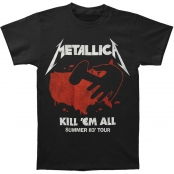 Футболка Metallica - Kill Em All Tours
