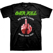 Футболка Overkill - We Dont Care Fuck You