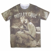 Футболка Motley Crue - ABT Tommy Lee Sublimated