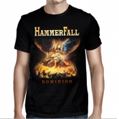Футболка Hammerfall - Dominion Serve In Heaven